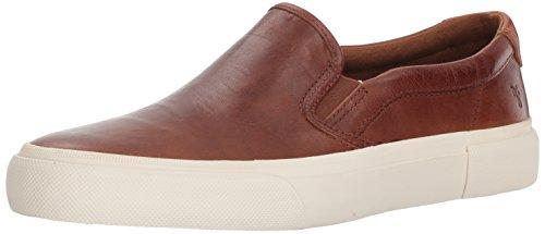 Frye Men's Ludlow Slip On Sneaker, Cognac, 8.5