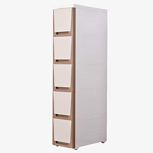 TXXM manufacture Cajonera de almacenamiento con costuras para armarios de almacenamiento, cajones, armarios de baño, cocina (color: pequeño marrón luna, tamaño: S)