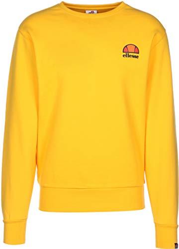 ellesse Sweater Herren DIVERIA Sweatshirt Gelb Yellow, Größe:XL