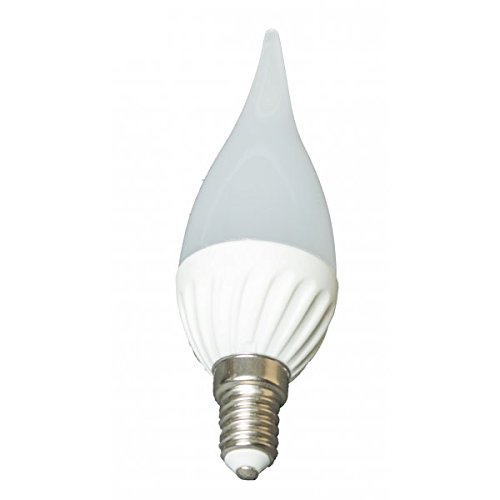LED-lamp kleine vlam fitting E14, 3 W, 230 V, neutraal wit