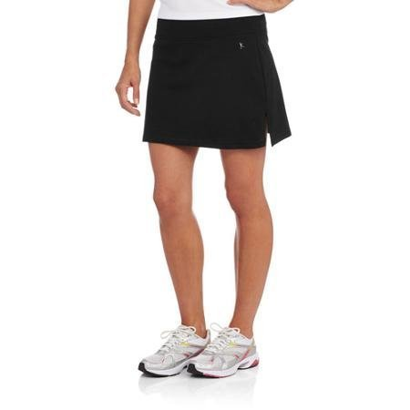 Womens Basic Skort for Tennis, Golf or Active (X-Large, Black)