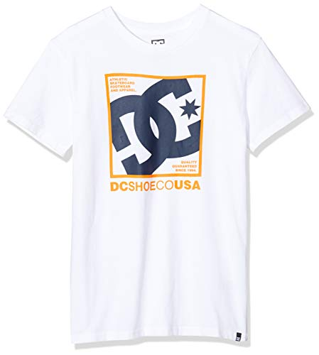 DC Shoes Magnum Contact-T-Shirt pour Homme, Snow White, FR : S (Taille Fabricant : S)