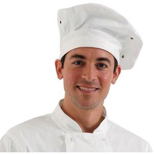 Chef Works Toque weiß Kochmütze Größe: One Size