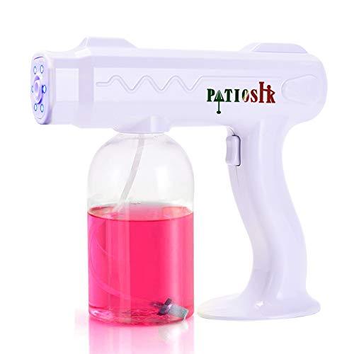 PRECIS Atomizer Sprayer Gun, Rechargeable Nano Atomizer Sprayer, 800ml Capacity Fogger Machine for Indoor, Car, School, Office,Garden