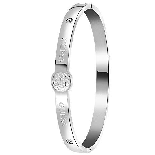 Guess - Bangle-Armreif aus Edelstahl, 4G-Logo - für Damen - Stahl