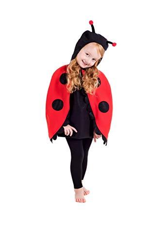 Fun Shack Rojo Mariquita Disfraz para Niños y Niñas - L