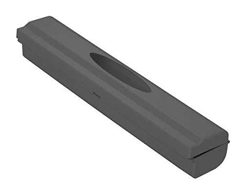 WENKO Folienschneider Perfect-Cutter, praktischer Abroller für Frischhaltefolie und Alufolie, Folienspender aus Kunststoff, 38 x 5,2 x 6,7 cm, Anthrazit