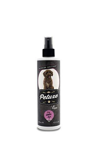 Petuxe Acondicionador Vegano para Perros de Agua. Acondicionador Vegano Perros. Texturizador Perro de Agua. Acondicionador Mascotas. Hidratación, Brillo, Textura y fijación del Rizo (300 ml)