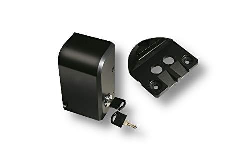 Schartec Elektroschloss mit Auflaufbock für Drehtorantriebe - elektrisches Schloss für Drehtorantrieb Porte