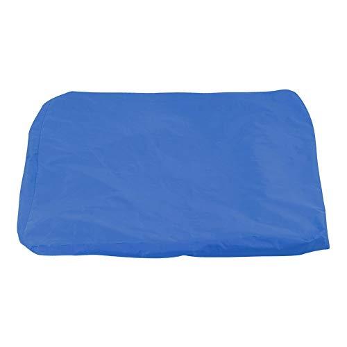CjnJX-Vases Puf Funda para sofá Piscina Funda Flotante Puf Funda Impermeable Lectura Relajante Funda Suave para puf Opcional Amarillo, Rojo, Azul, Naranja(Azul)