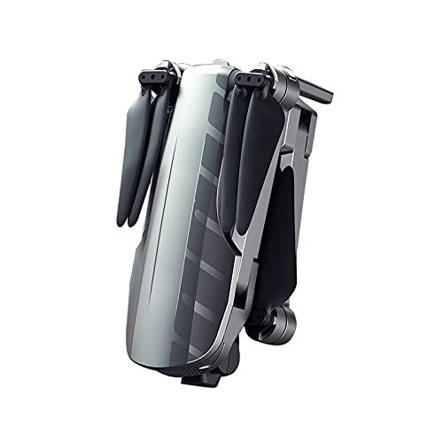 WSZMD Batteria Ultra Lunga, Aeromobile a Quattro Assi Brushless, Posizionamento GPS, 8K HD, Drone Anti-Vento da 5000 Metri, Drone Anti-Shake Yuntai,Black- Battery*3