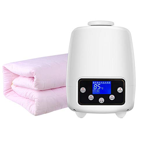 Elektrische verwarmingsdeken, zacht en comfortabel, verwarmde mat, roze/beige Pink-200x180cm