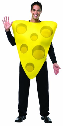 Adults Cheese Costume Mens Womens Unisex Fancy Dress New