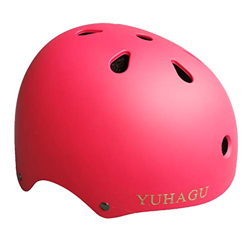 Purchase YUHAGU Kids Toddler Bike Helmet for 3-8 Years Old (RED)