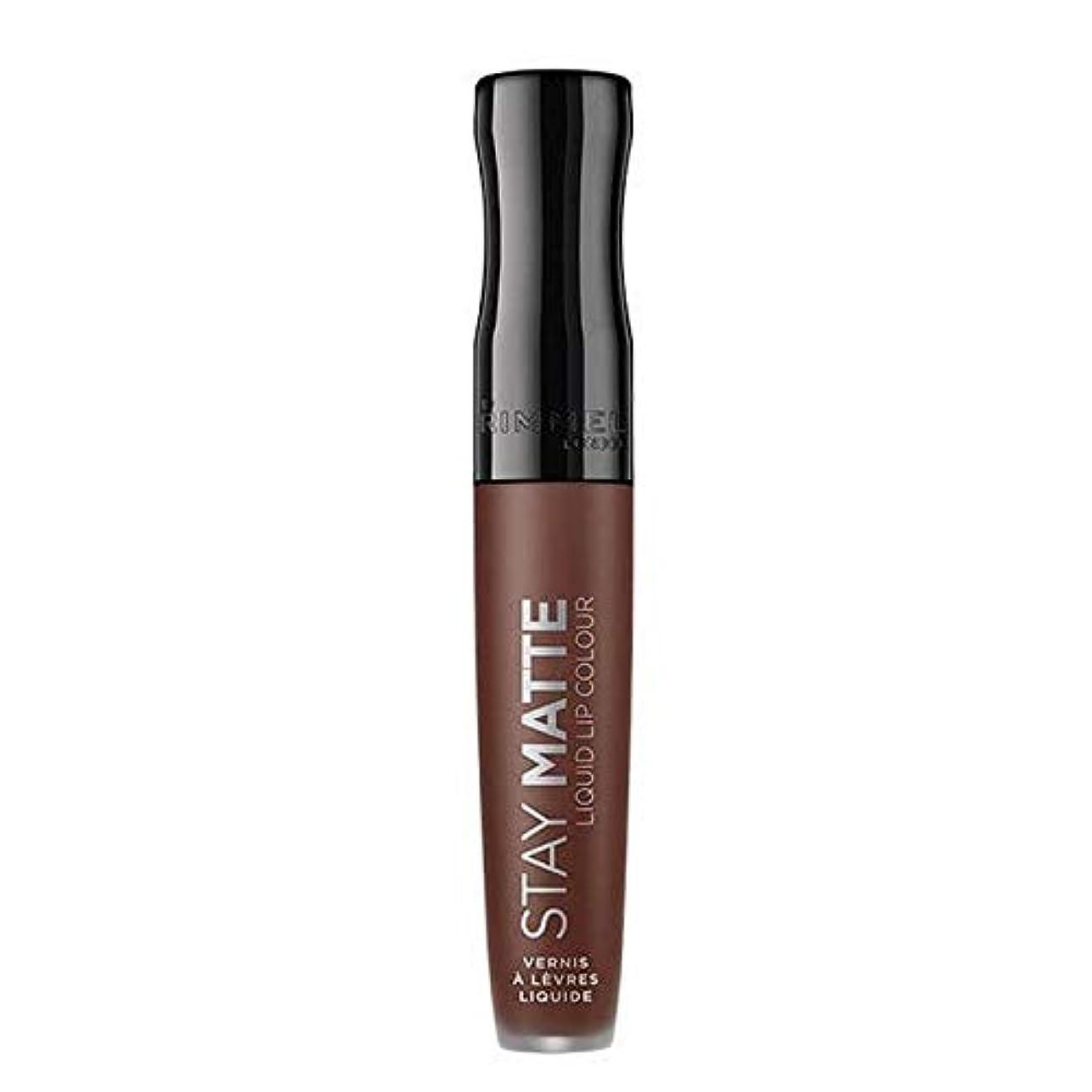 コンペ性的隙間[Rimmel ] リンメルステイマット液体リップ口紅プランジ - Rimmel Stay Matte Liquid Lip Lipstick Plunge [並行輸入品]