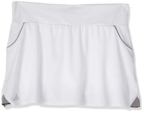 adidas Club Falda de Tenis, Mujer, Blanco, M