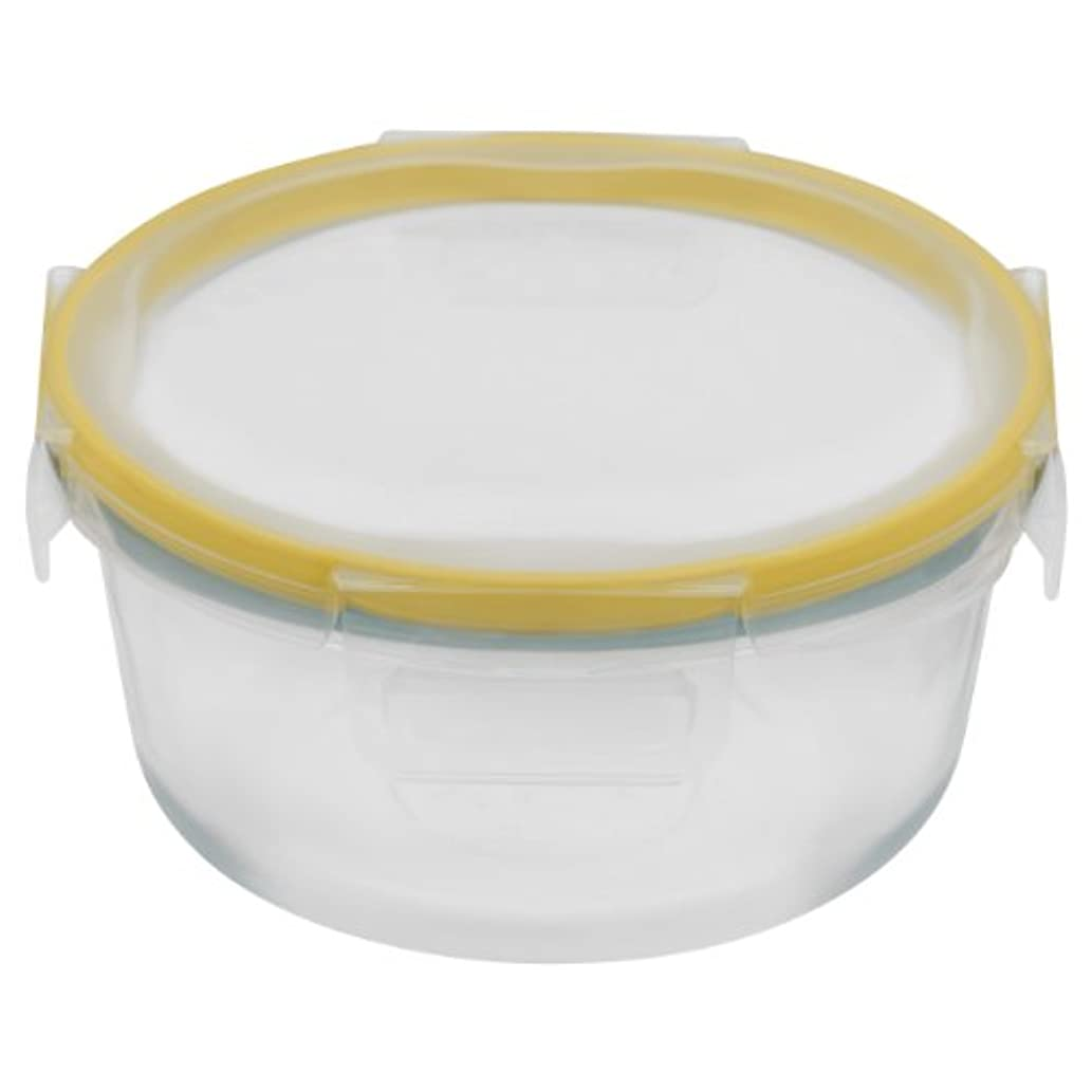 Snapware 4-Cup Total Solution Round Food Storage Container, Glass