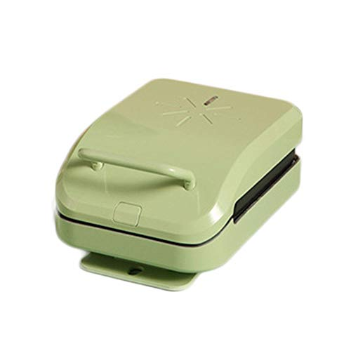 SLFPOASM Sandwichera Máquina De Desayuno Hogar Pequeño Comida Ligera Pan De Gofres Tostada Multifuncional Green