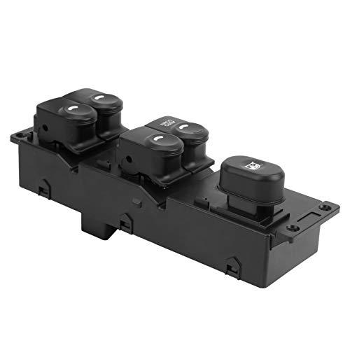 Ventanilla eléctrica Antigolpes resistente a la suciedad Botón del interruptor de la ventana principal para viajes de larga distancia para un viaje cómodo