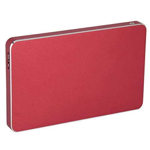 External Hard Drives, 160GB 250GB 500GB 1TB USB3.0 High Capacity Portable PC Hard Drives for Laptop,PC,98SE/ ME/ 2000/ XP/Vista/ WIN7/ WIN8, Red(500GB)