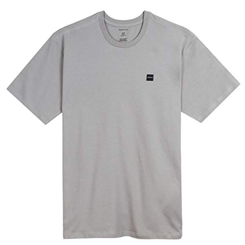 Camiseta Oakley Patch 2.0 Tee Heather Cor:Cinza;Tamanho:G