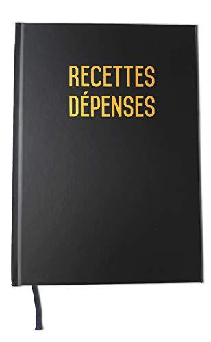 Recettes et dépenses- Format A5-80 pages - Qualité haut de gamme