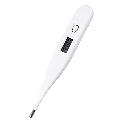 KKmoon デジタル体温-計 電子体温-計 口/脇の下温度測定 LCDディスプレイ 1秒読書 防水 ペット/子供/大人