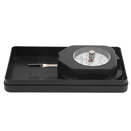 Comprobador de tensión de dial, comprobador de manómetro de compresión Medidor de tensión Medidor de gatillo para presión de punta de relé para microinterruptor para interruptor electrónico