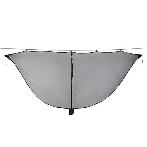 ZXGQF Hamaca de Camping Bug & Mosquito Net, Protección de 360 ??° La Malla de Malla Mantiene a los no-See-Ums, Mosquitos e Insectos Fuera - 300 * 140 cm (Black)