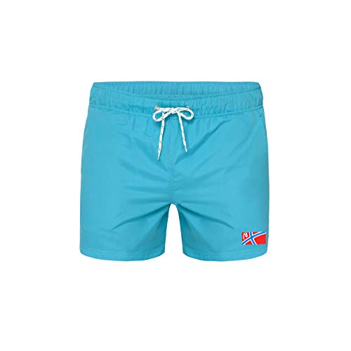 Nebulus Short HUMEUR Herren, acquatic - L