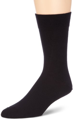 Hudson Herren Relax Klima Socken, Schwarz (Black 0005), 43-46