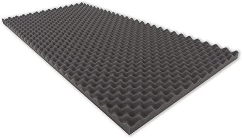 Dibapur Espuma corrugada autoadhesiva, 200 x 100 x 3 cm