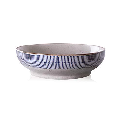 MIEMIE Vaisselle en céramique hôtel Maison Bol à Soupe Nouilles Plat d'écrevisses ustensiles Alimentaires Plateau Bol