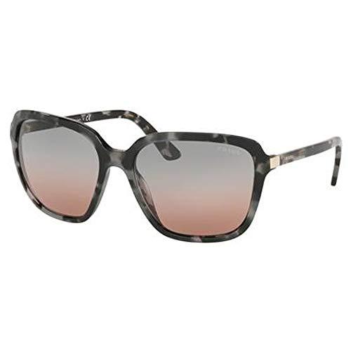 Prada 0PR 10VS Gafas de Sol, Grey Havana, 58 para Mujer