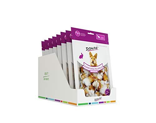DOKAS Getreidefreier Premium Snack mit Kaninchen für Hunde – Ideal für unterwegs