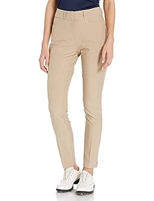 adidas Golf Women's Full Length Pant, Trace Khaki, 10