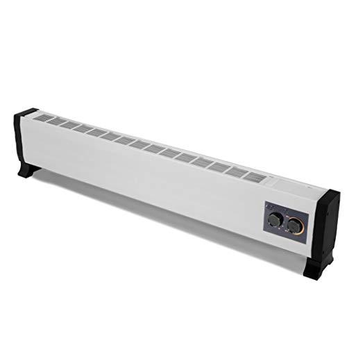 FUTNhot Convectie Elektrische voetbalplint, convector, verwarming, radiator, badkamer, staande verwarming, oververhitting, oververhitting en valbeveiliging