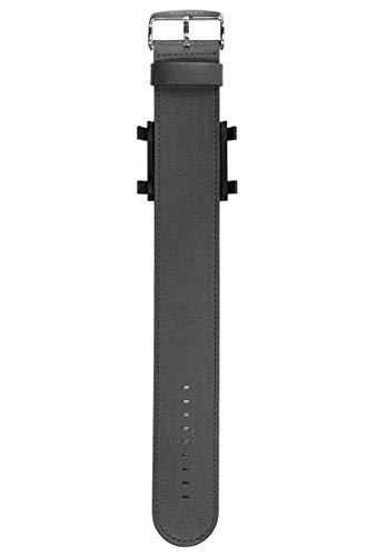 S.T.A.M.P.S. 0821011–Armbanduhr Unisex, Lederband