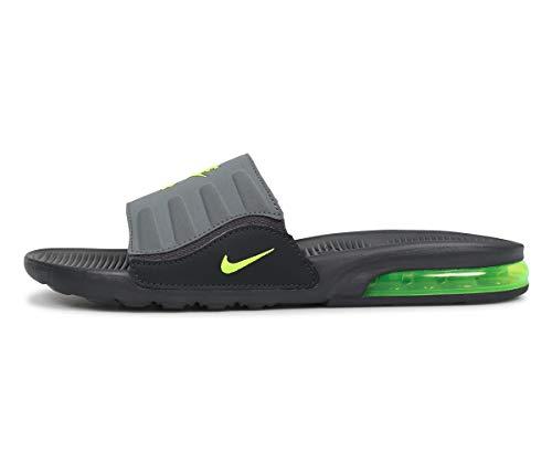Nike Men's Air Max Camden Slide Anthracite/Dark Grey/Cool Grey/Volt BQ4626-001 (Size: 12)