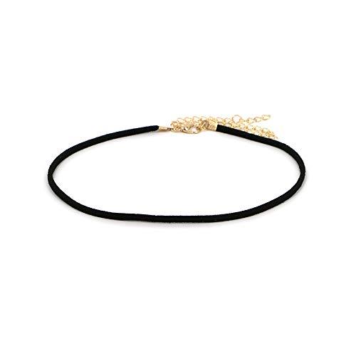 シンプルスエードチョーカーネックレス【necklace ルピス】
