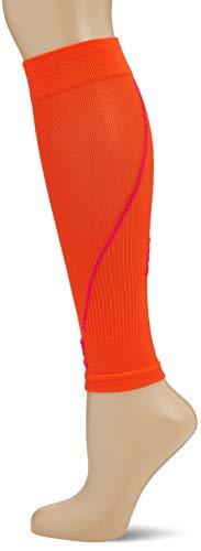 CEP - CALF SLEEVE 2.0 | Beinstulpen für Damen in orange / pink | Größe III | Beinlinge für exakte Wadenkompression