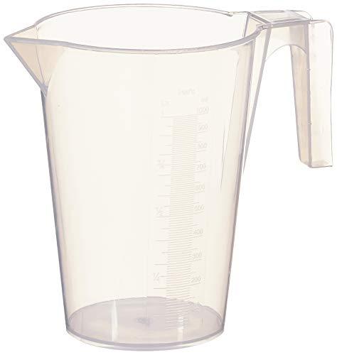 Vaso dosificador con medidas SILKOLENE (1000 ml)