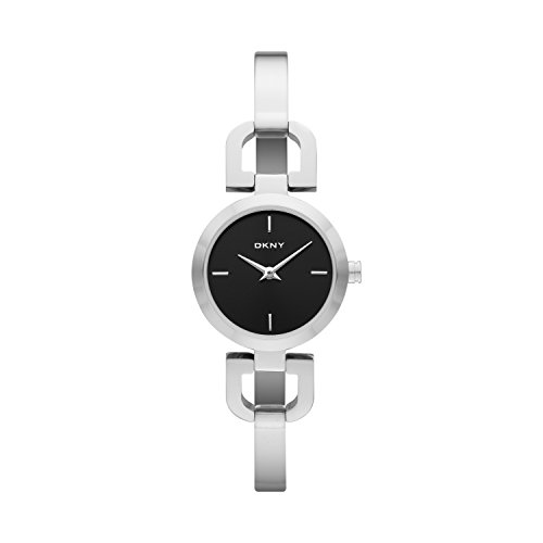 DKNY Damen-Armbanduhr XS Analog Quarz Edelstahl NY8541