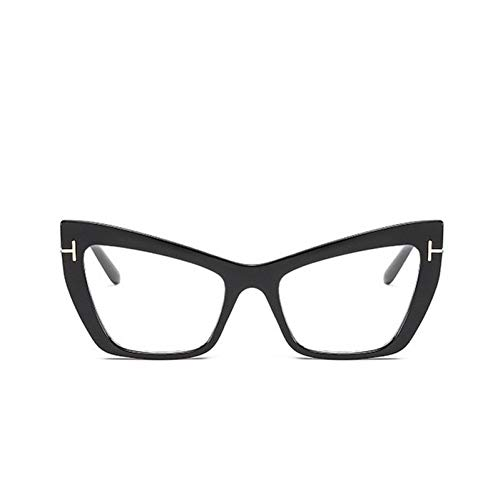 HYUHYU Fashion Kat Oog Zonnebril Vrouwen Vintage Kleine Frame Tom Vrouwelijke Zonnebril Transparante Bril Punten Gafas