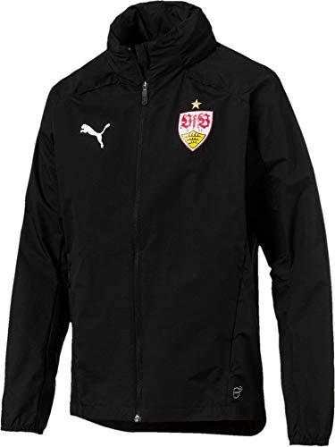 PUMA Herren VfB Stuttgart Regenjacke schwarz S