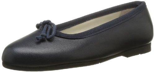 start rite Francesca, Ballerines Fille - Bleu (Navy Leather), 28 EU