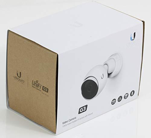 Ubiquiti netwerken UniFi Video UVC G3 Camera Indoor/Outdoor, AF Compatible, UVC-G3-BULLET (Indoor/Outdoor, AF Compatible, PoE niet inbegrepen)