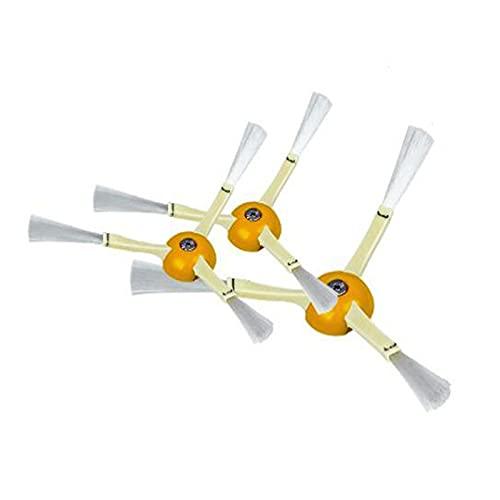 Cepillo Lateral Cosido con Accesorios De Tornillo Robot Aspirador De Aspiradora Reemplazo/Fit para Irobot 860 870 880 980 990 (Color : 3 Side Brush)