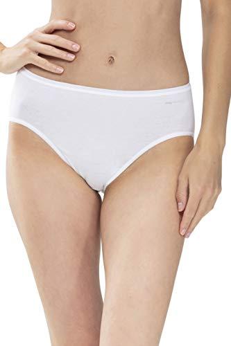 Mey Basics Serie Organic Damen American-Pants Weiß 44