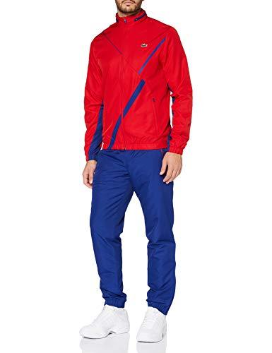 Lacoste Sport WH2045 Pantalon de survêtement, Rouge/Cosmique, M Homme